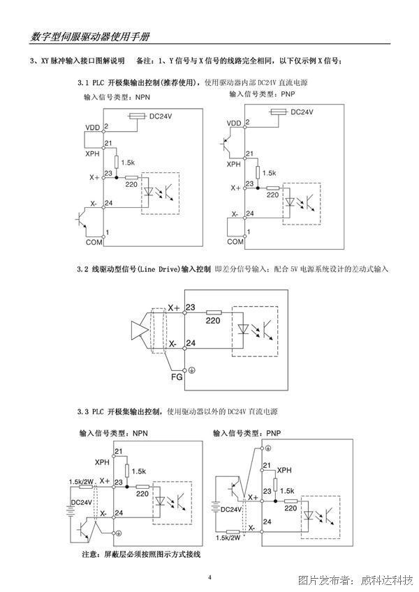 威科达科技b结构经济型伺服驱动手册-伺服驱动器