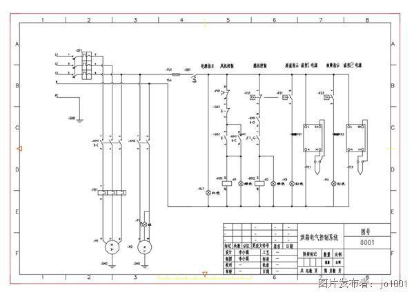 烘箱电气控制系统电路图