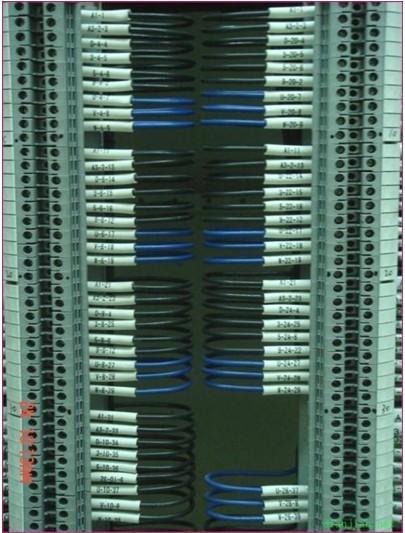 基于plc的自动窗帘设计的电路图