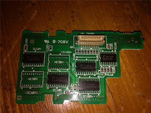 图解欧姆龙plc电压不稳的故障维修