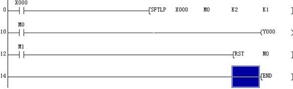 三菱plc单键控制起停14种方法