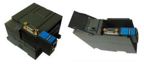 西门子s7-200/300,通讯口接了hmi,以太网联网是不受影响的.
