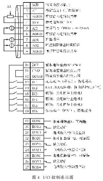 plc变频器的变频恒压供水系统(包括接线