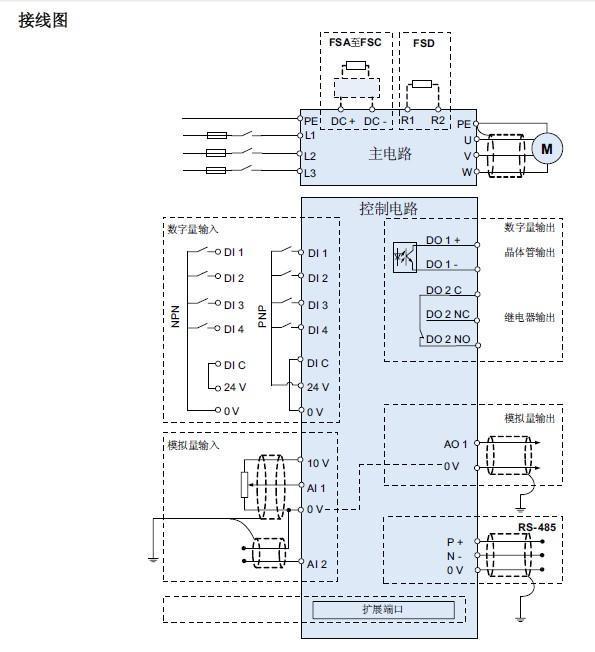 西门子v20接线原理图