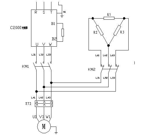 图7 能耗制动原理图 5 系统节能 采油井在开采过程中,油况可能随时发生变化,而C2000变频器可以通过内置PLC功能自动侦测电机输出情况,通过变频器内部运算合理调整输出频率或转矩,并可根据油厂的采油量指标,由采油工人自行或定时改变输出频率,满足了手动与自动控制的二合一功能,不仅节约了电能,还节省了人力物力,深受用户好评。 6 结束语 台达C2000变频器自2011年10月份在国内某知名油田多个地面直驱螺杆泵井口投运以来,运行效果稳定,节能明显,并且操作简便易懂,在客户处取得了良好反响。 由于直驱螺杆泵