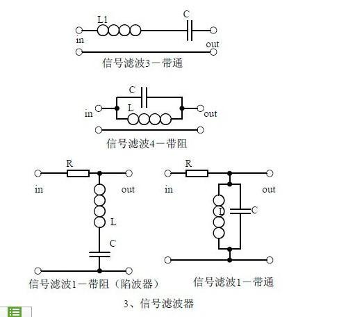 1,电路的作用,与滤波器的区别和相同点.