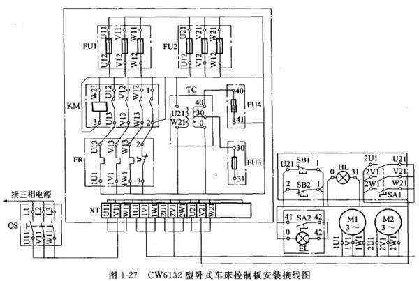 电气安装接线图的原则-专业自动化论坛-中国工控网