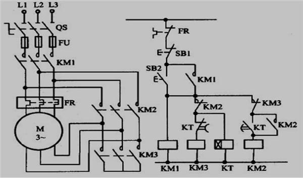 s7-200型plc实现星三角降压启动的设计学习参考