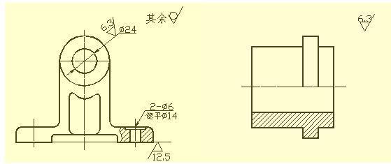 设计施工图电路标注