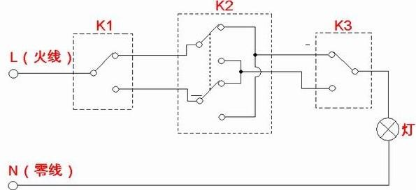 中间继电器组合的电路图-专业自动化论坛-中国工控网
