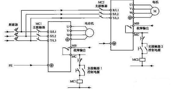 变频器主回路安装主接触器的注意事项-专业自动化
