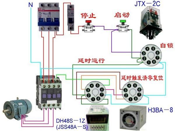 >> 电工电气接线图  电工电气高手回答,这个电感开关怎么接线啊?