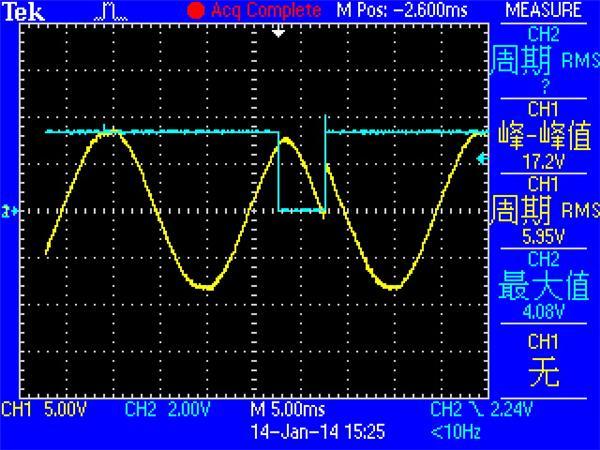 可控硅控制电路波形图求讲解!