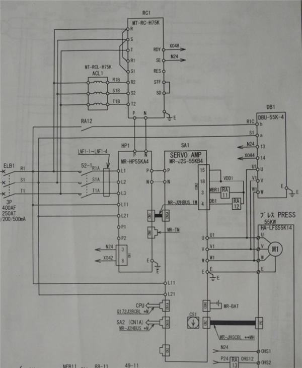 液压高低压转换电路图