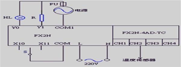 fx2n48电路安装接线图