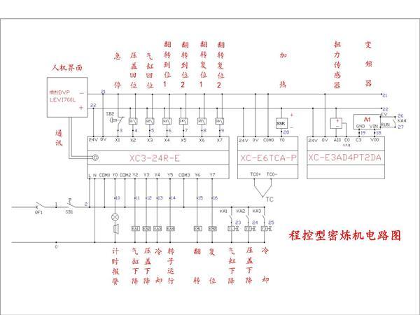 东莞宝轮仪器程控型密炼机电路图-专业自动化论坛