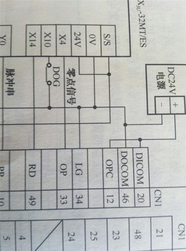三菱plc脉冲输出接线图【相关词_ 三菱plc脉冲输出接线】