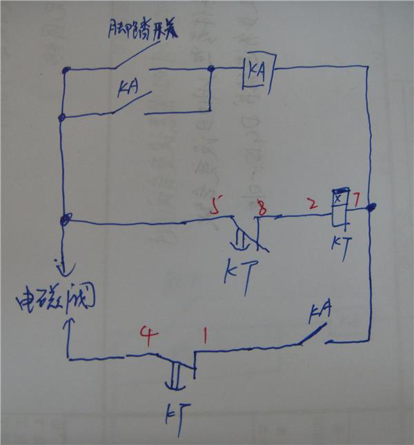 再增加一个中间继电器,能自保持信号
