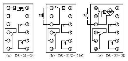 中间继电器接线图-专业自动化论坛-中国工控网