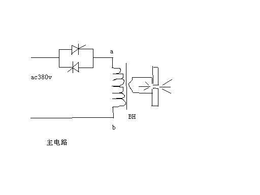 单相交流调压(感性负载)电流波形异常-专业自动化