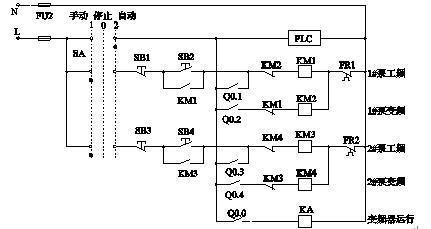 變頻器控制兩臺水泵供水的恒壓供水系統