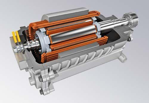 新能源汽车电动-发电机也称作发动机的飞轮