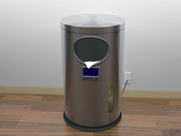 海外镜鉴----未来垃圾桶长什么样