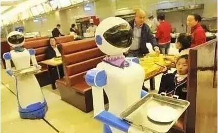 机器人替代工人进行工作正在成为现实