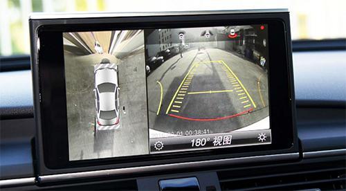 汽车倒车雷达 影像的运行原理 汽车CAN总线高清图片