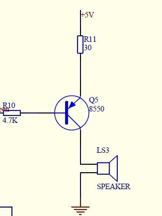 简单电路1—蜂鸣器驱动