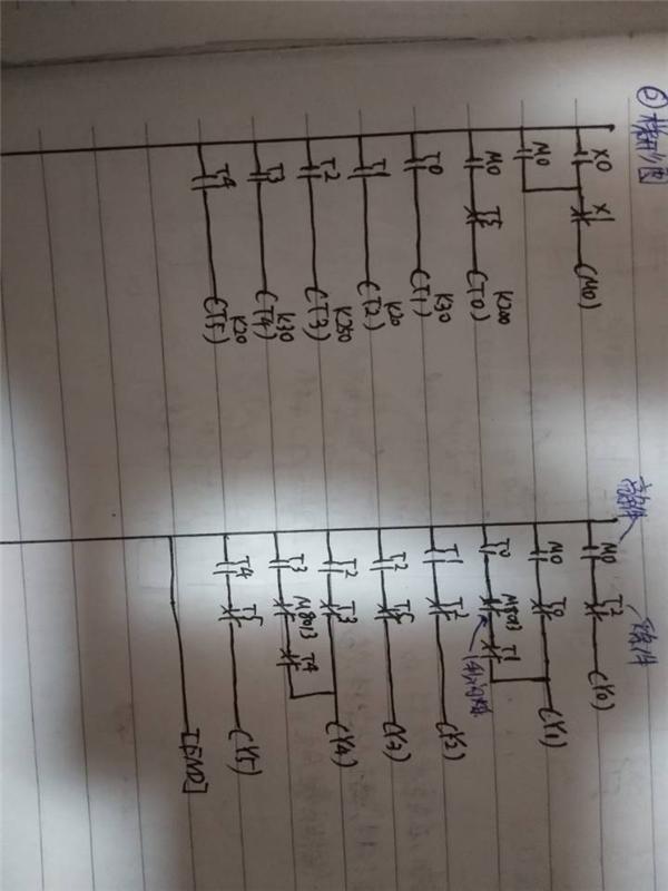 辛苦研究三菱PLC红绿灯上梯形图时序图