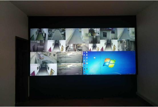 的方式为公路指挥中心提供一个超高分辨率,超大显示面积的液晶显示屏