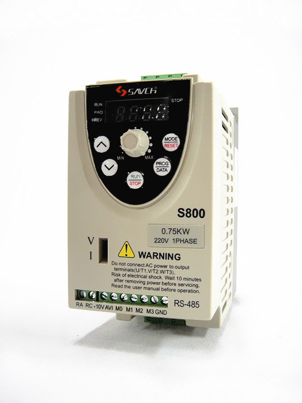 批发台湾三碁s800-2s0.75g变频器