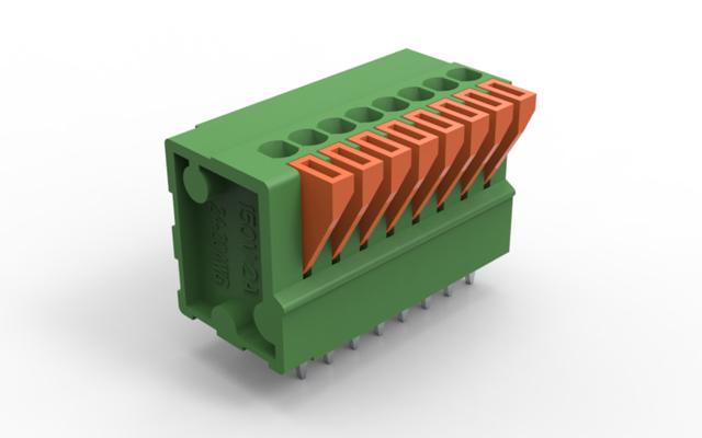 """弹簧插拔式接线端子:伺服驱动联接系统""""秘钥"""""""