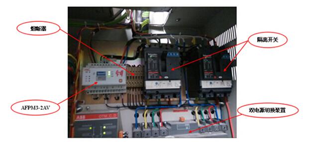某商场消防设备电源监控系统设计及应用