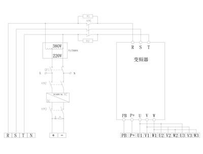 升降货梯电路接线图