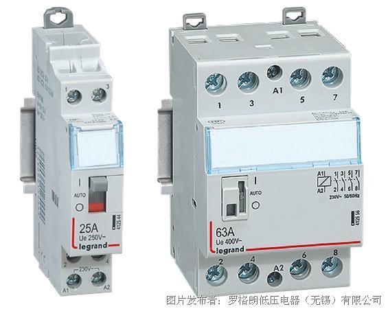 cx3系列接触器可以控制多种电路,通常应用于各类照明,制热系统,通风