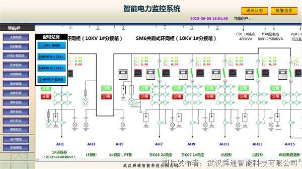 qtouch智能电力监控系统