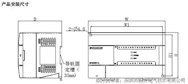 砖机plc电路控制