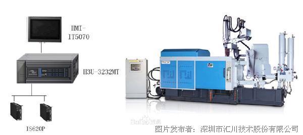 汇川h3u –plc在压铸机的应用解决方案