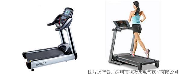 科姆龙 kv3000变频器在电动跑步机上的应用