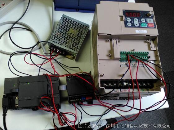 与变频器的端子接线及变频器的参数设置,大家可以根据以上说明