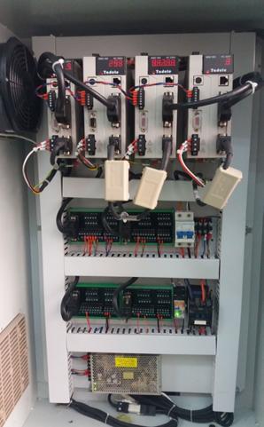 图四:4轴冲压机器人控制柜