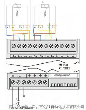 知识分享:em231热电阻接线问题