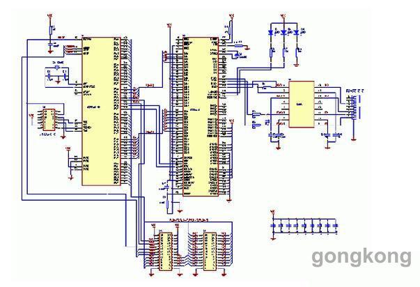 单元选用st公司的基于armcortex-m3内核的32位处理器stm32f103c8t6.