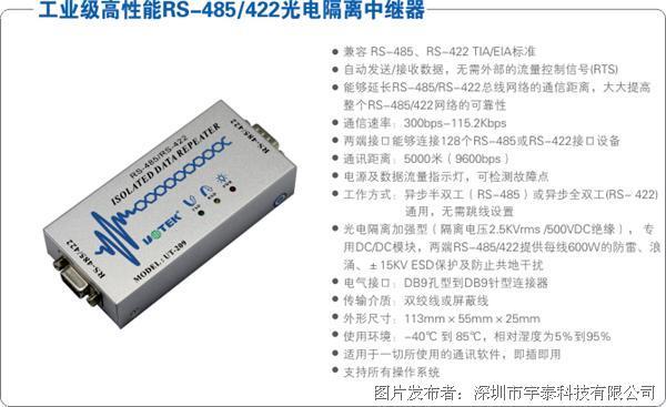 转换器内部带有零延时自动收发转换, 独有的i/o电路自动控制数据流
