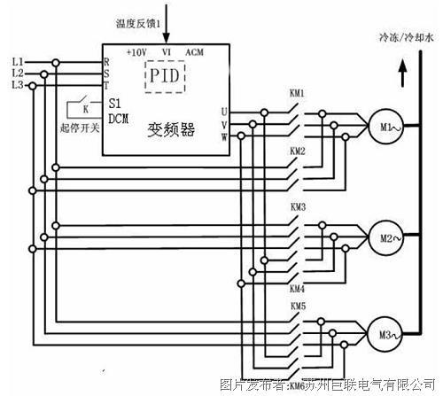 变频器系统接线图