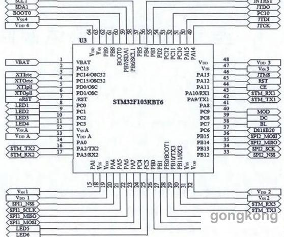 2.3 GPS定位模块Ublox NEO   本系统中CJPS定位模块采用Ublox NEO SQ,该模块支持NEMA0183 V3.叭协议标准输出,TTL电平接口,CJPS模块不能直接与中央处理器相连接,必须先通过MAX3232特TTL电平转换成RS232电平后,才能连接到中央处理器的接口。 GPS定位模块硬件原理图如图3所示。