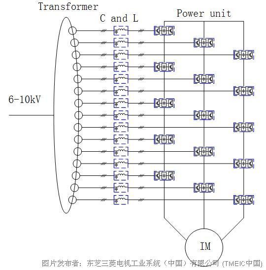 一般变压器一次绕组为y型接法,二次绕组采用延边三角形接法,这种接法