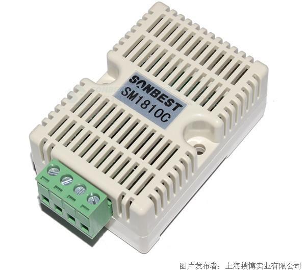 搜博[sm1810c]can总线温湿度采集模块